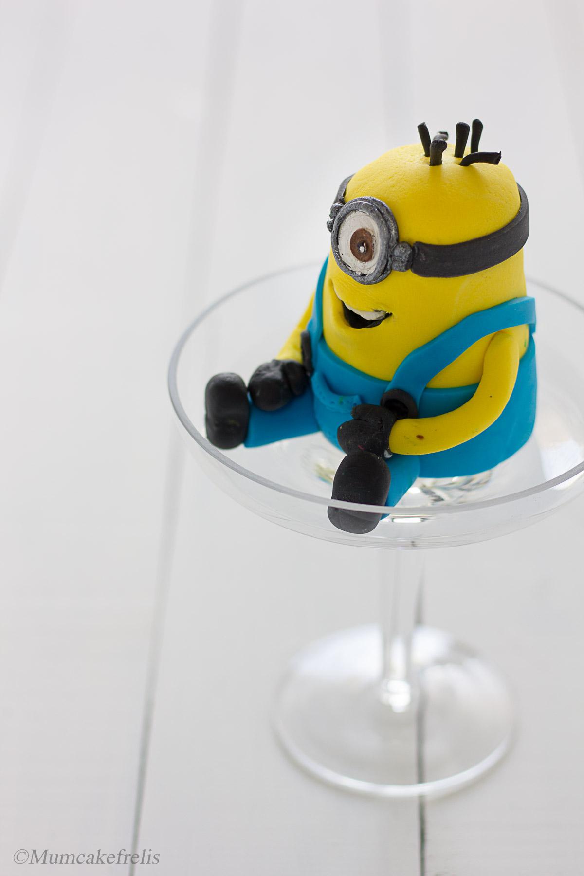 Sugar Minion Cake Toppers