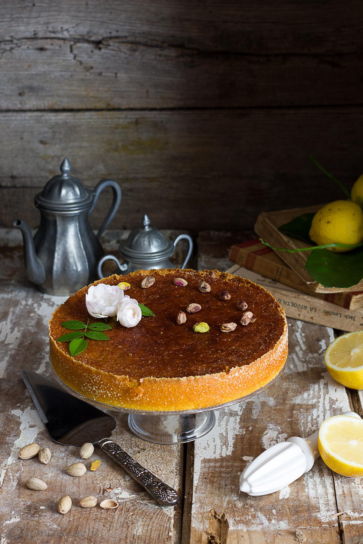 torta persiana con pistacchi