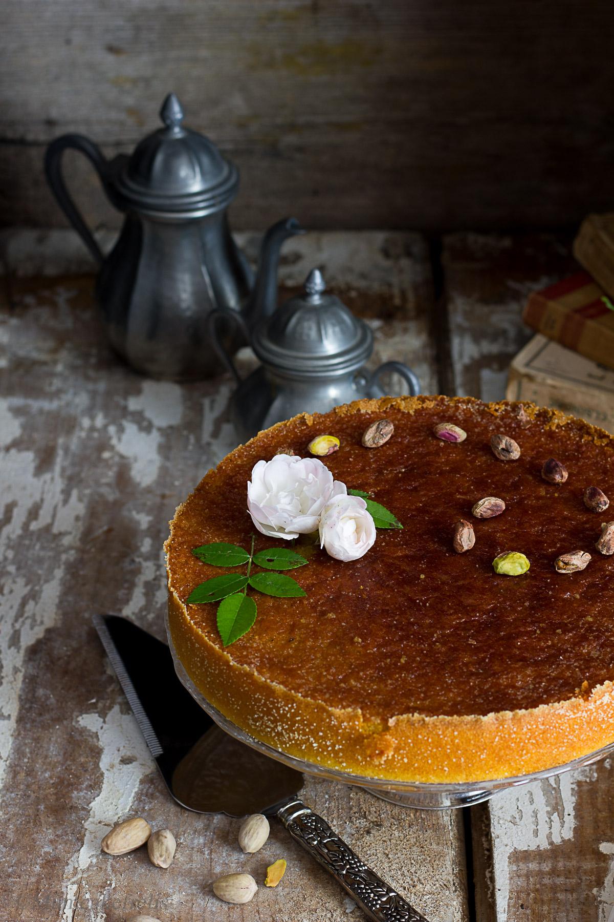 persian rose cake