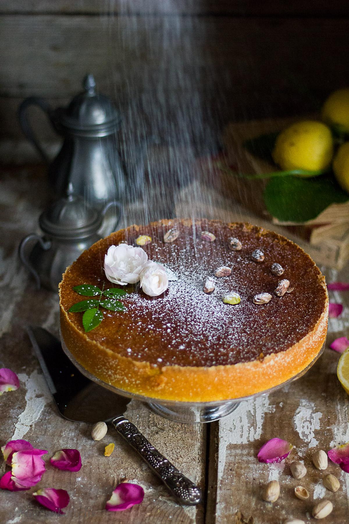 ricetta della torta con rose