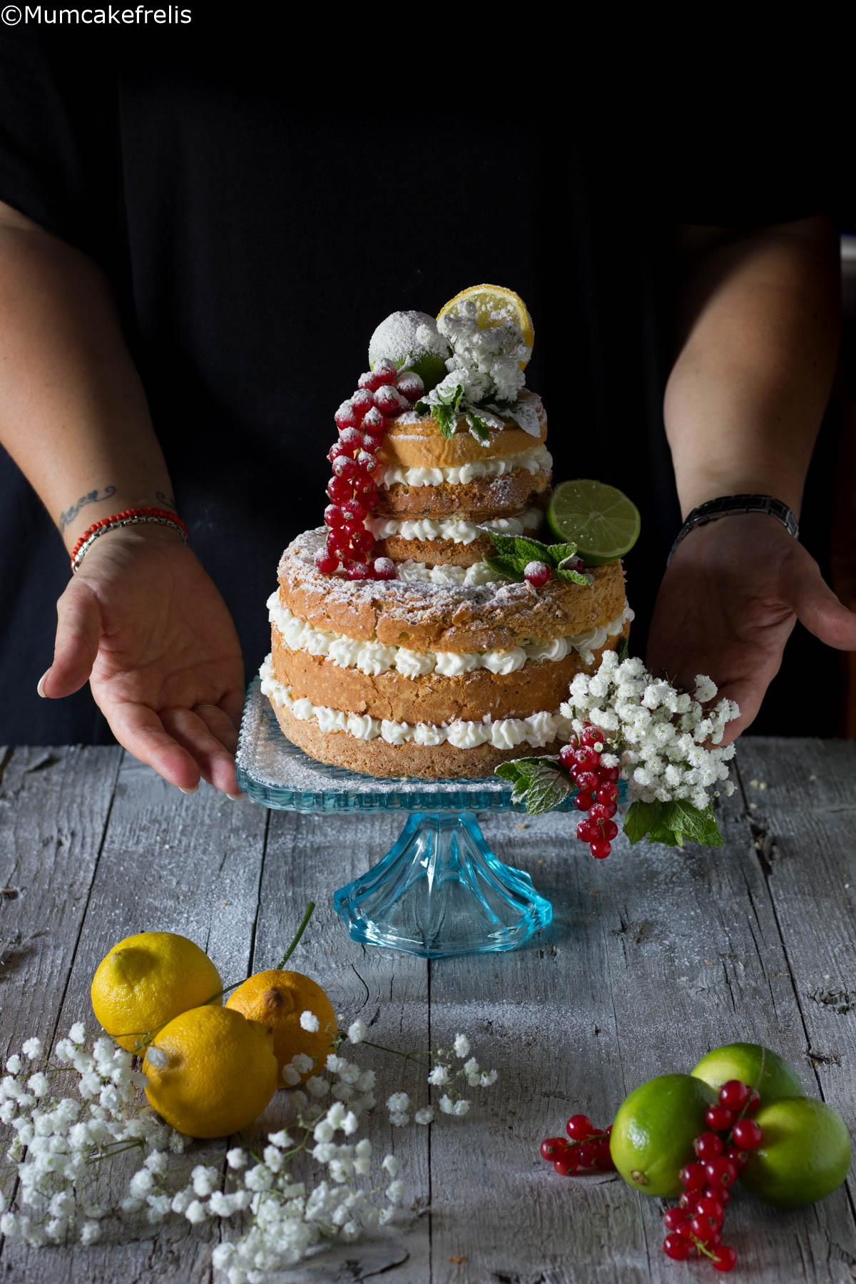 Hugo naked cake