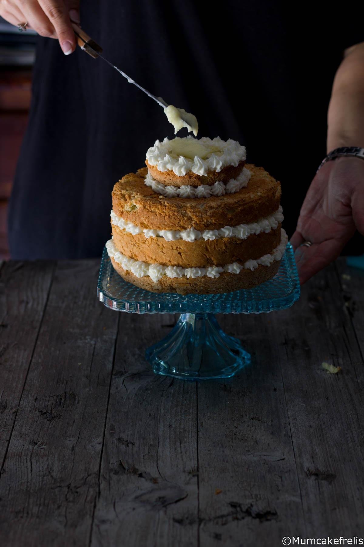 naked cake all'Hugo