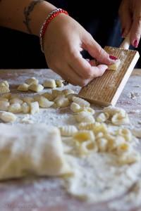 gnocchi con salsa gorgonzola