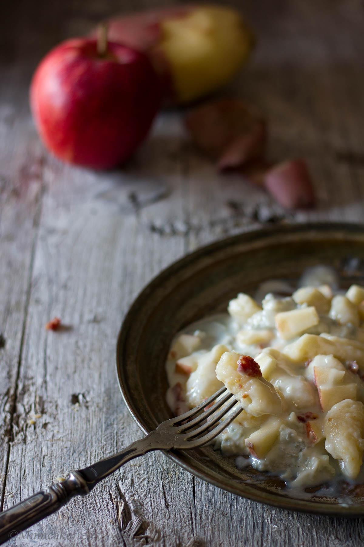 ricetta per gnocchi al gorgonzola