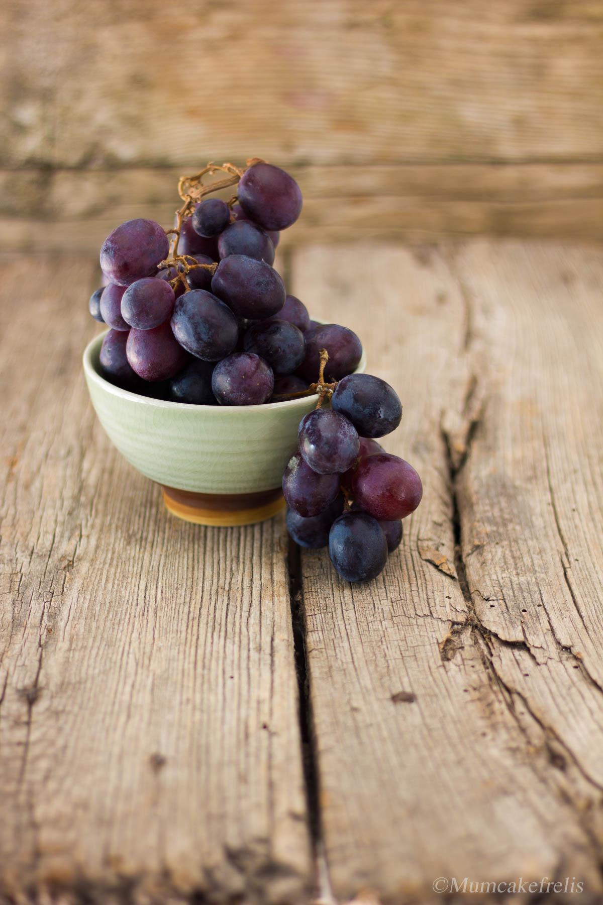 cake dolce con uva