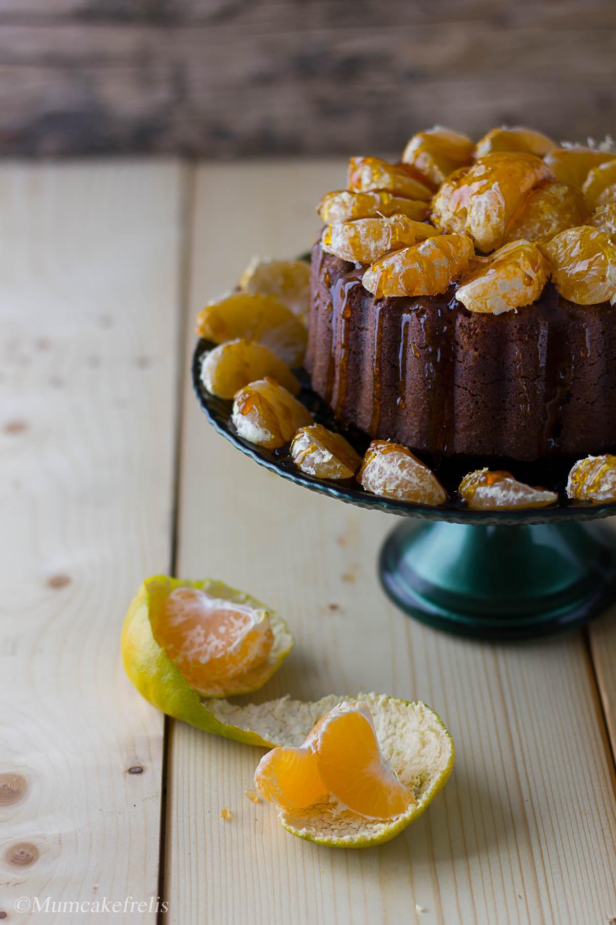 torta morbida mandarini
