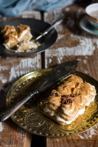 tiramisù con the indiano masala chai