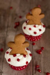 cupcake al melograno