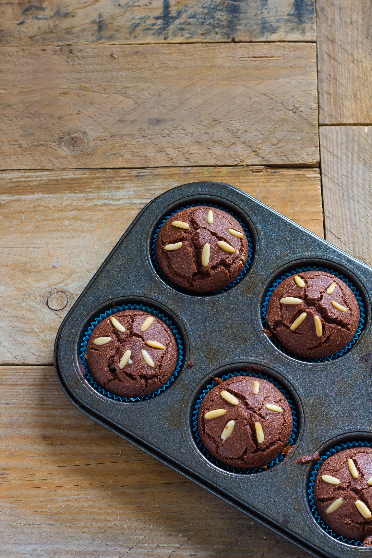 muffin con farina di castagne vegan
