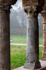 colonnato del Palazzo della ragione