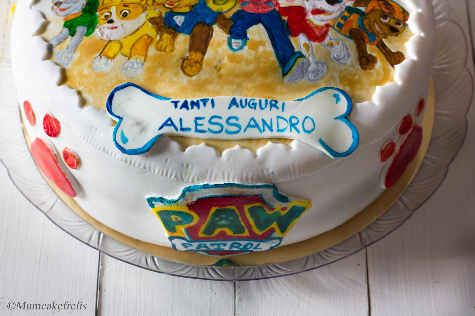 make a paw patrol cake