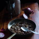 Il fegato con cipolle alla veneziana