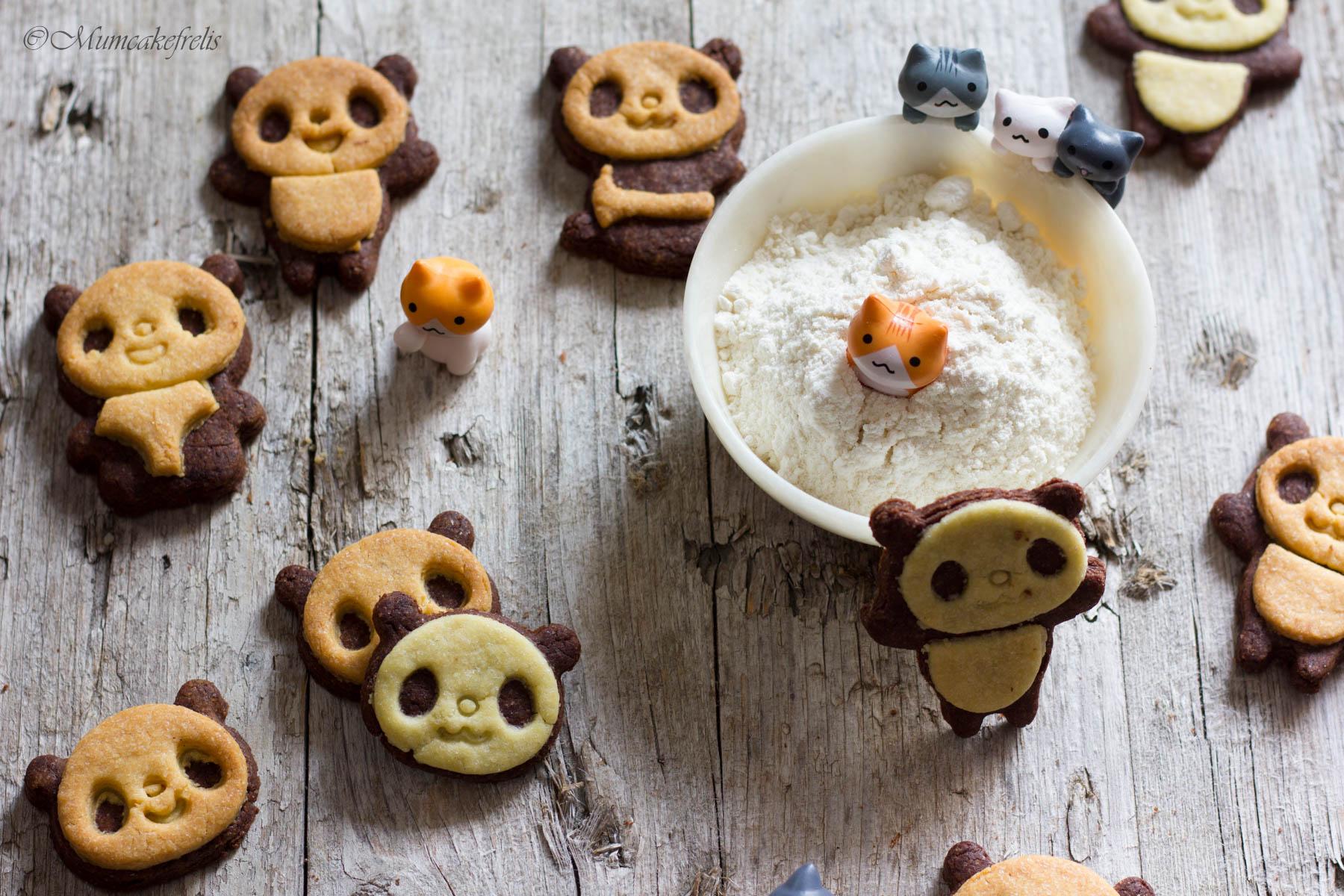 biscotti panda