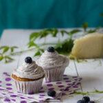 cupcake mirtilli e lamponi