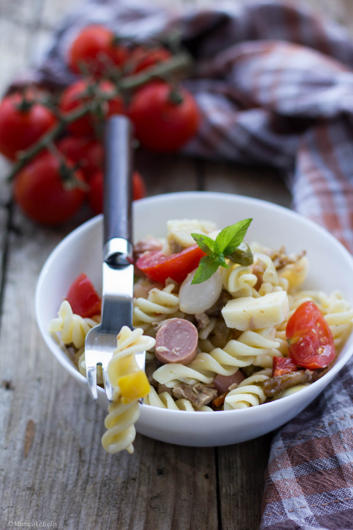insalata di pasta fredda ricette