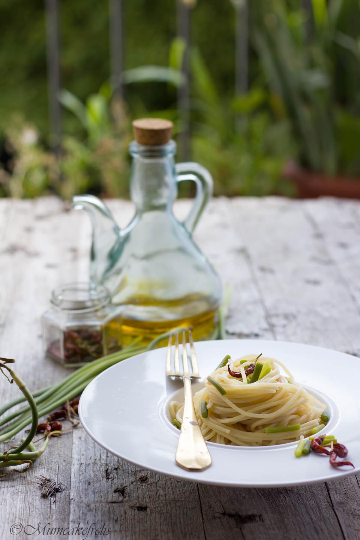 aglio olio e peperoncino cremosi