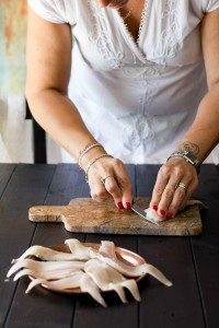 sfilettamento della galinella
