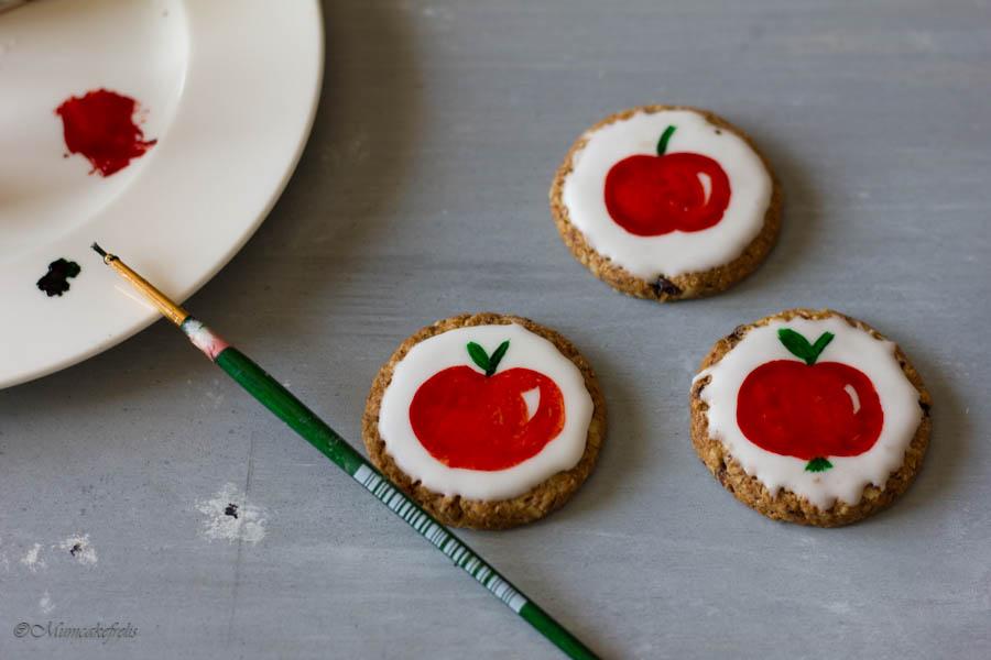 biscotti decorati tutorial