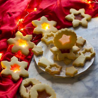 biscotti vetro caramelle