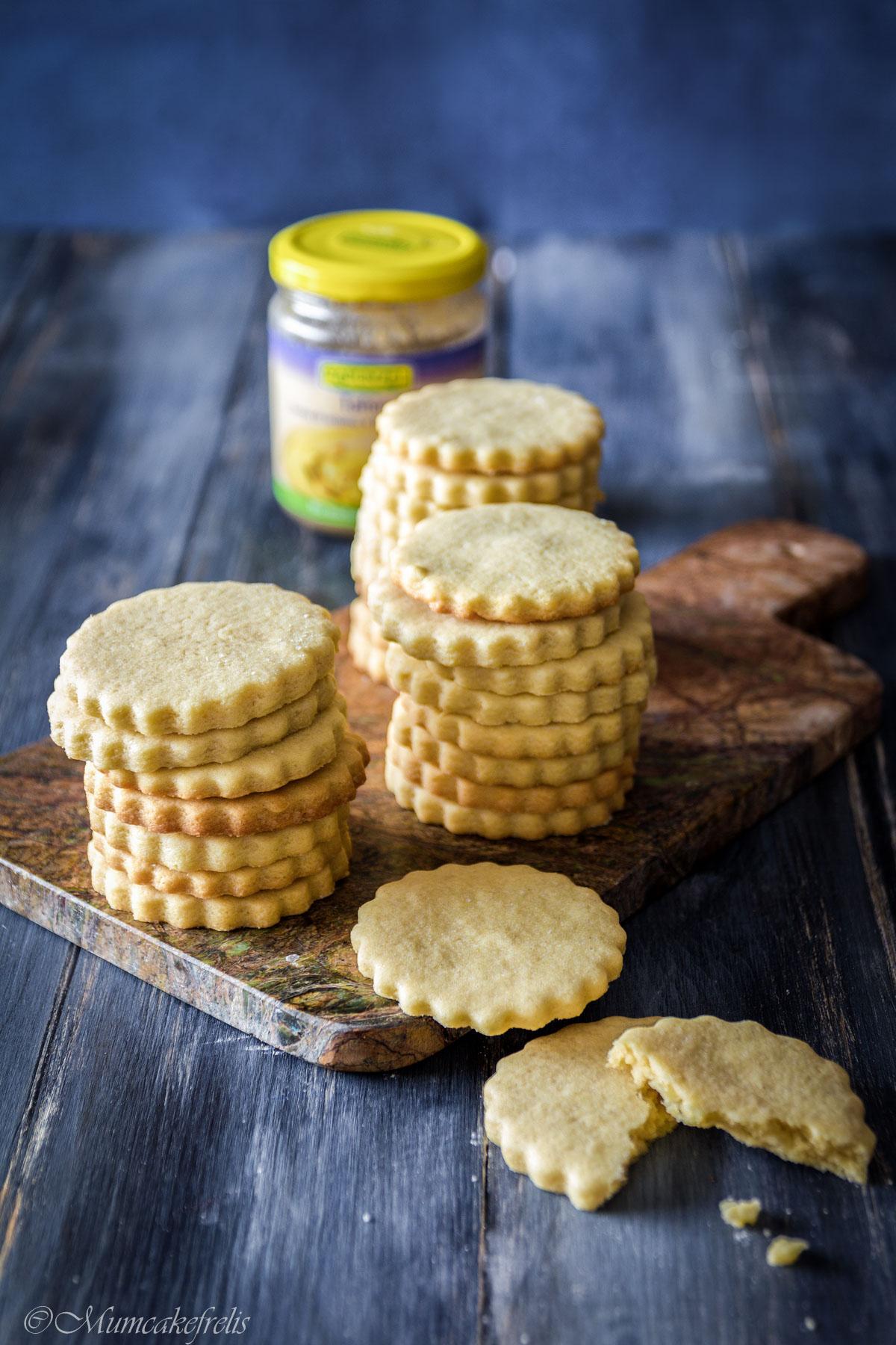 biscotti vegani ricetta con thaini