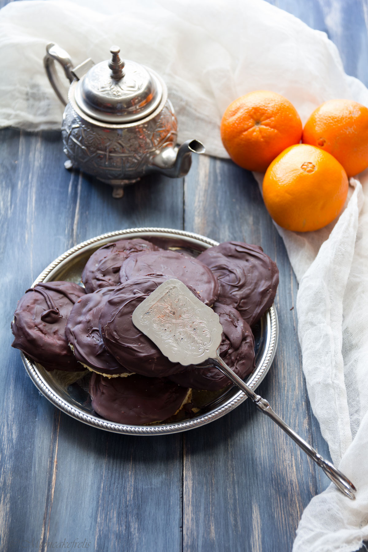 mini jaffa cake fatte in casa