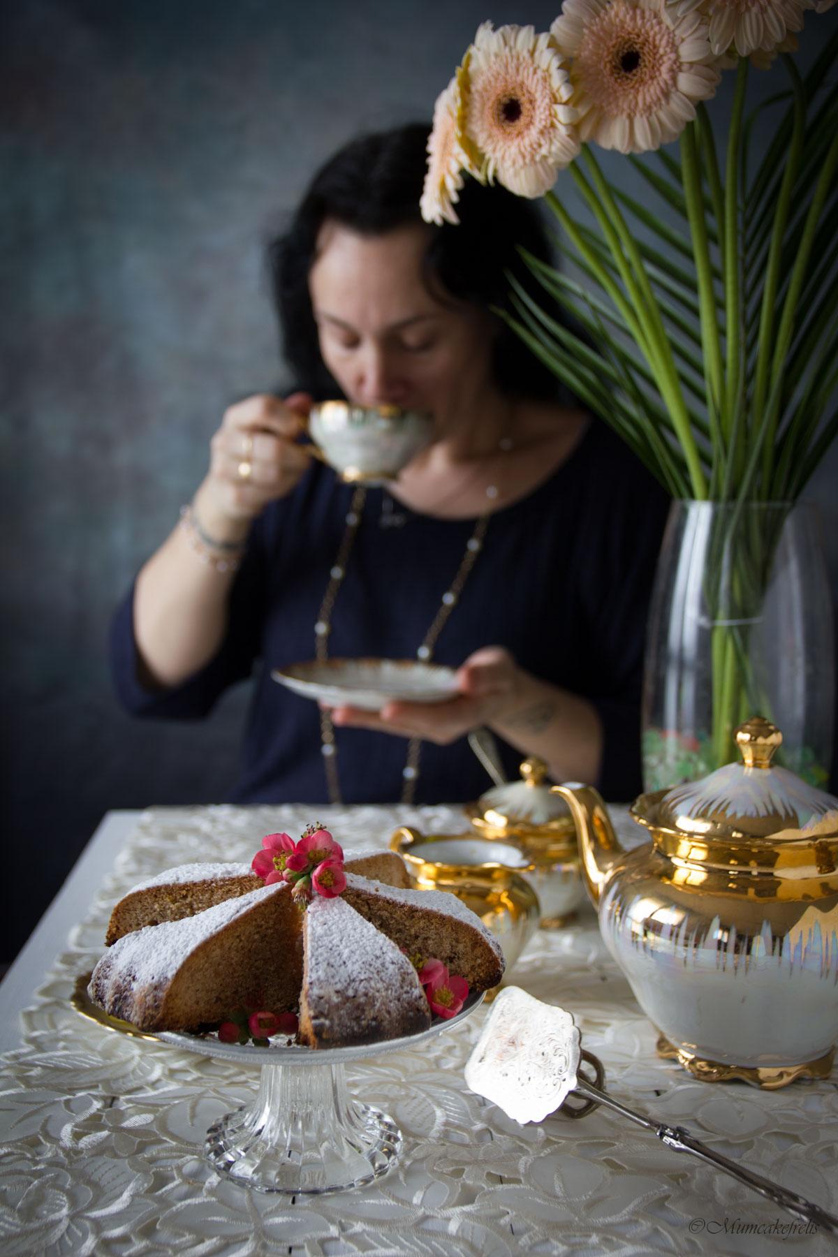 seed cake con carvi