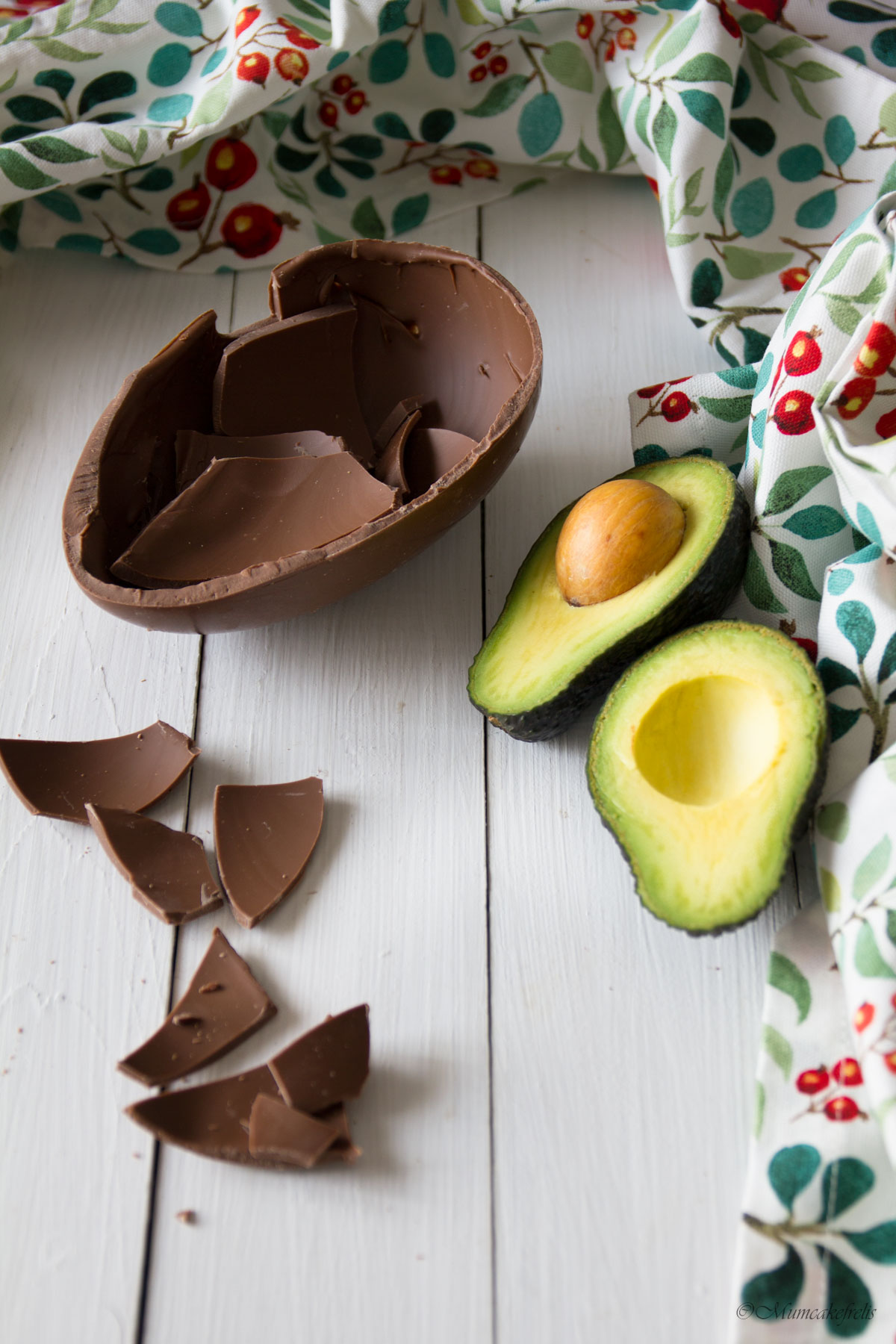 mousse avocado vegan