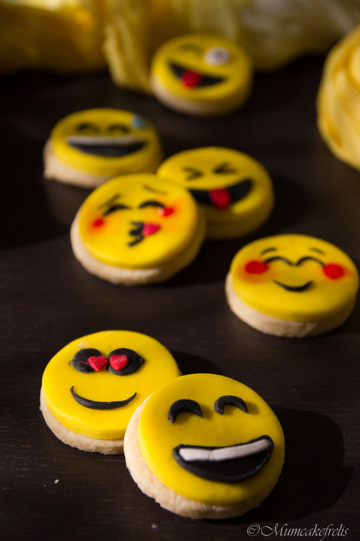 biscotti faccine emoji