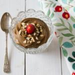 crema golosa di mousse avocado e cioccolato