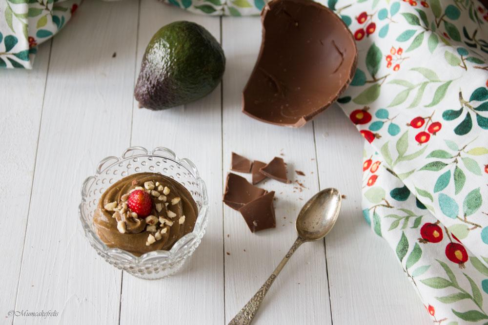 chocolate mousse using avocado