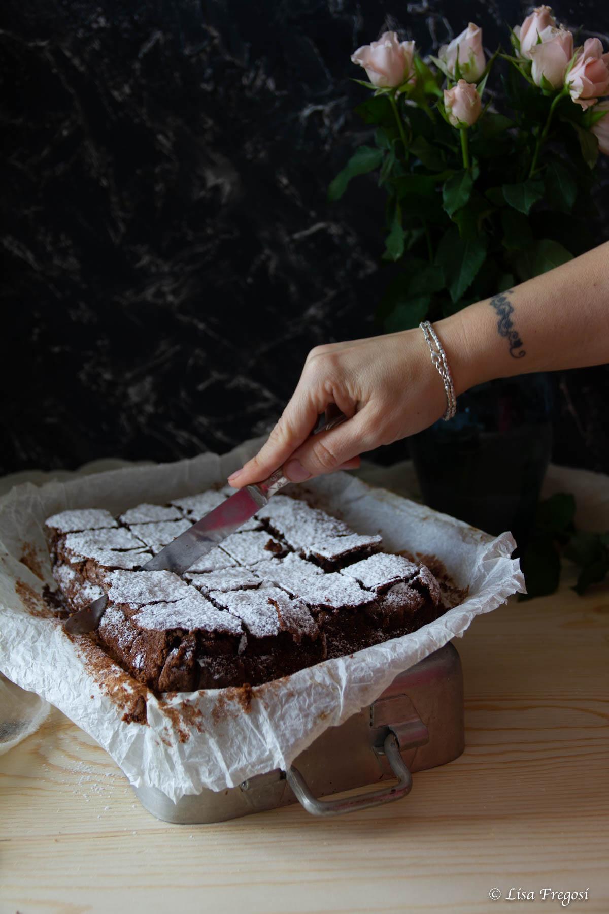 Caprese al cioccolato di San De Riso