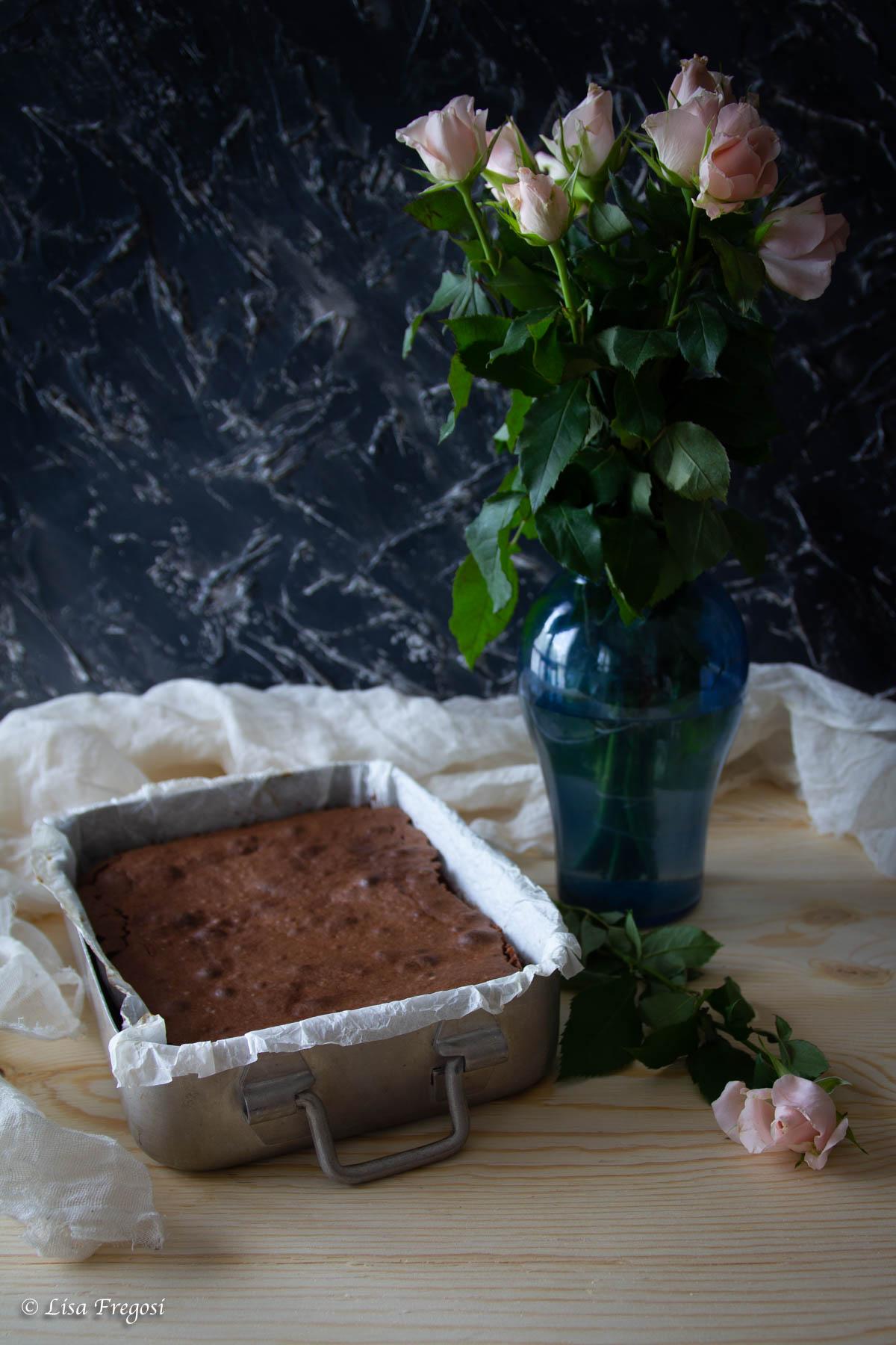 ricetta della caprese al cioccolato