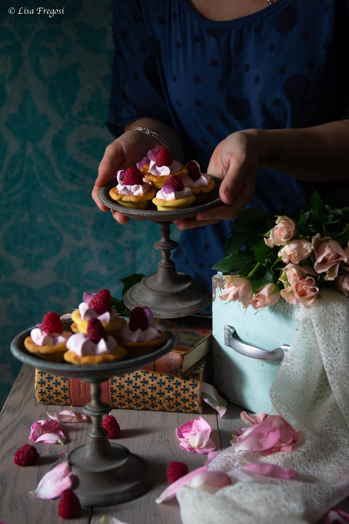 ricette con petali di rose