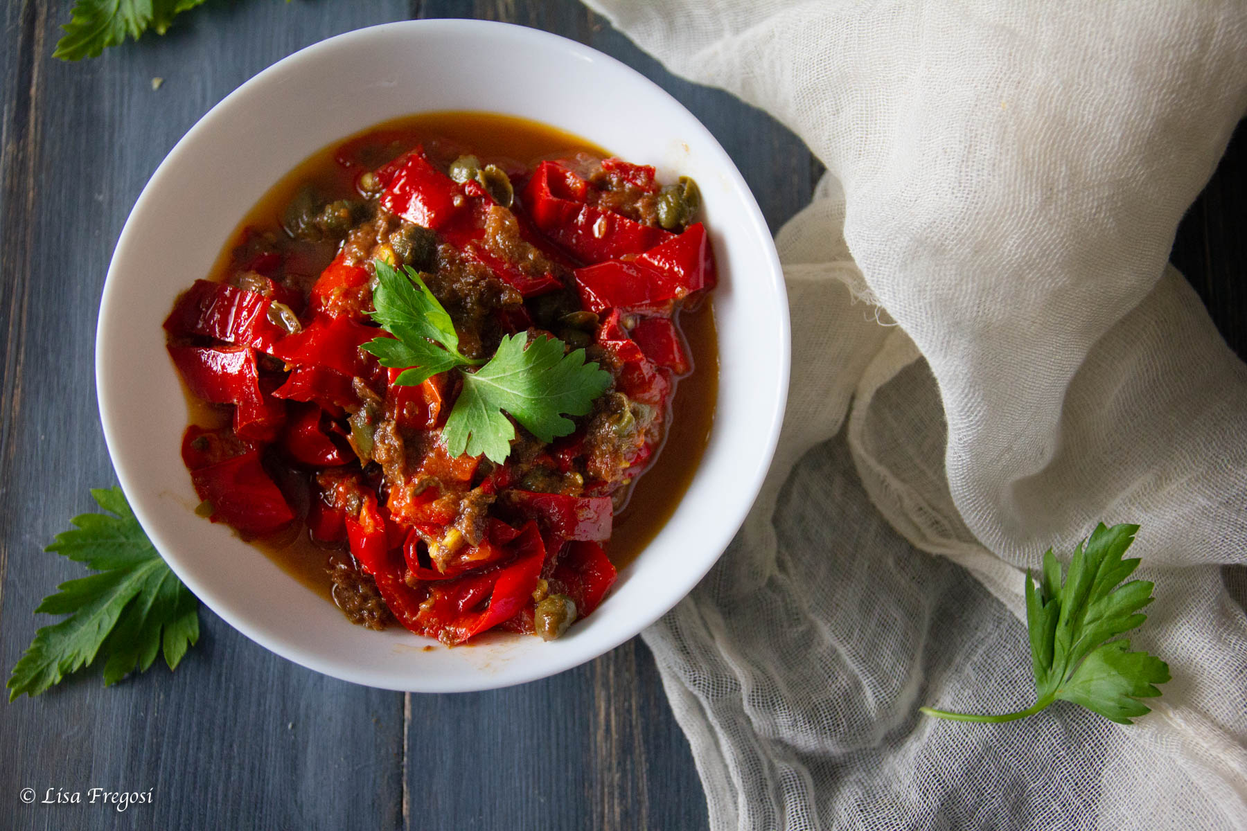 variante della ricetta della peperonata