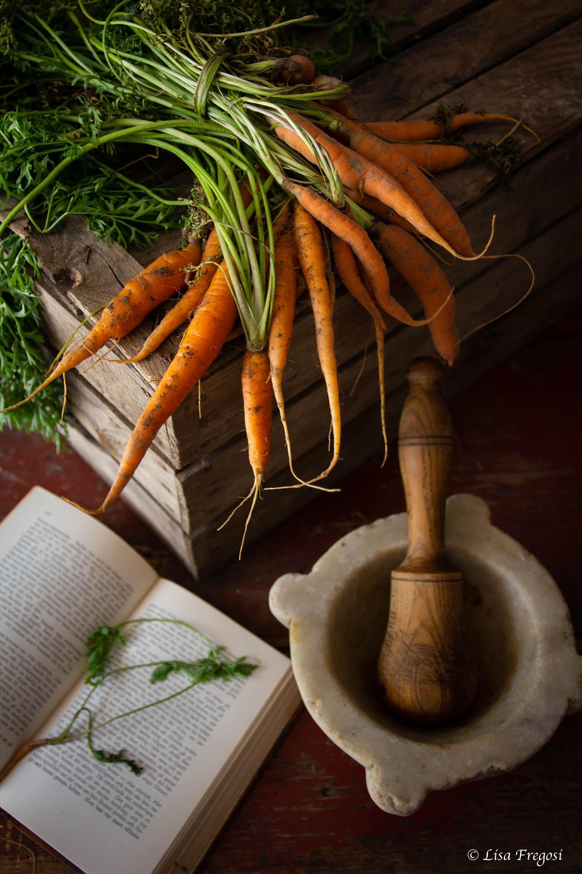 foglie di carote come utilizzarle