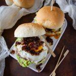 hamburger di manzo con bacon