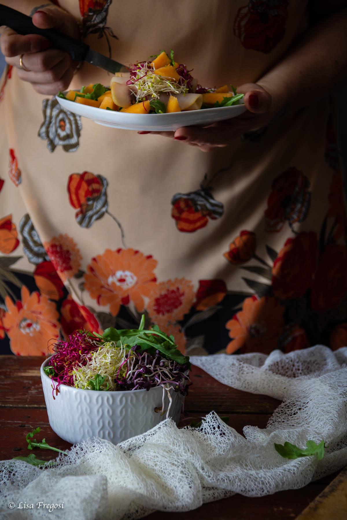 ricetta insalata con melone e pesce spada