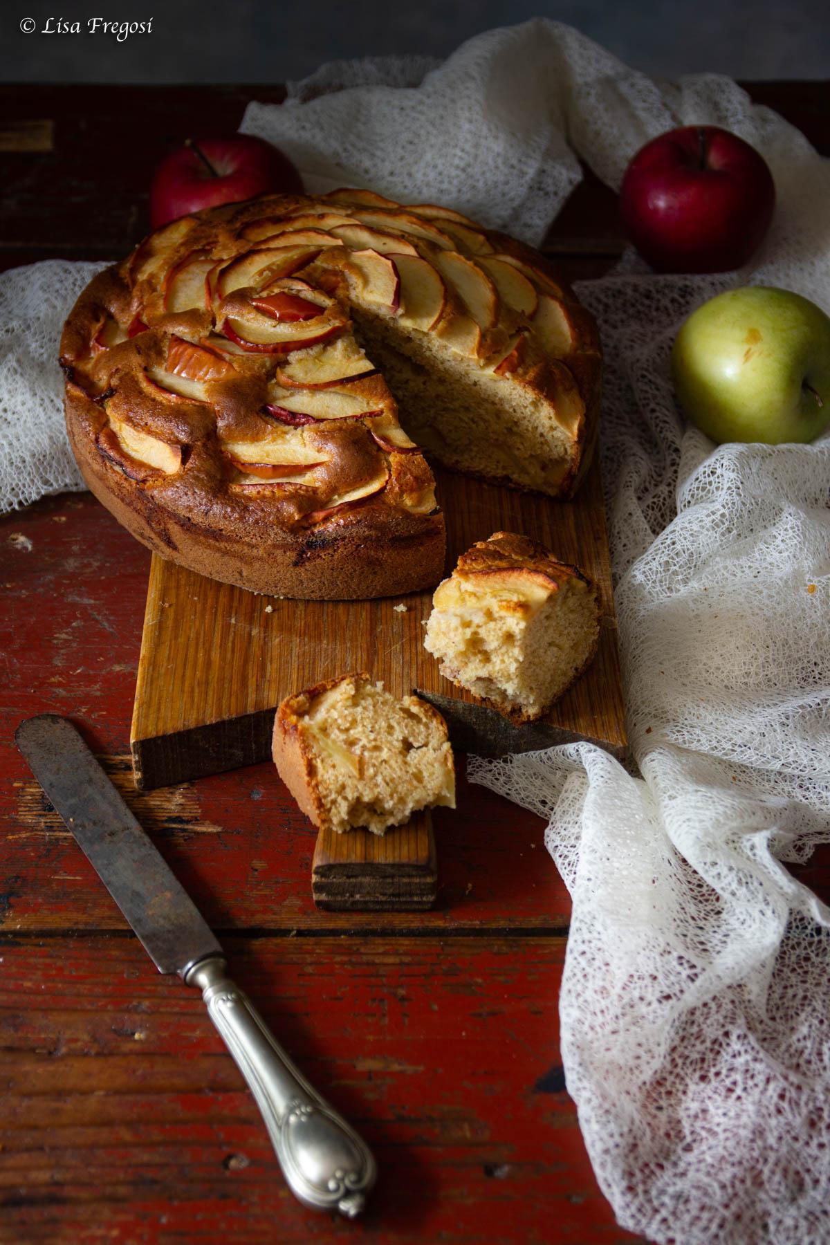 ricetta della torta di mele morbida