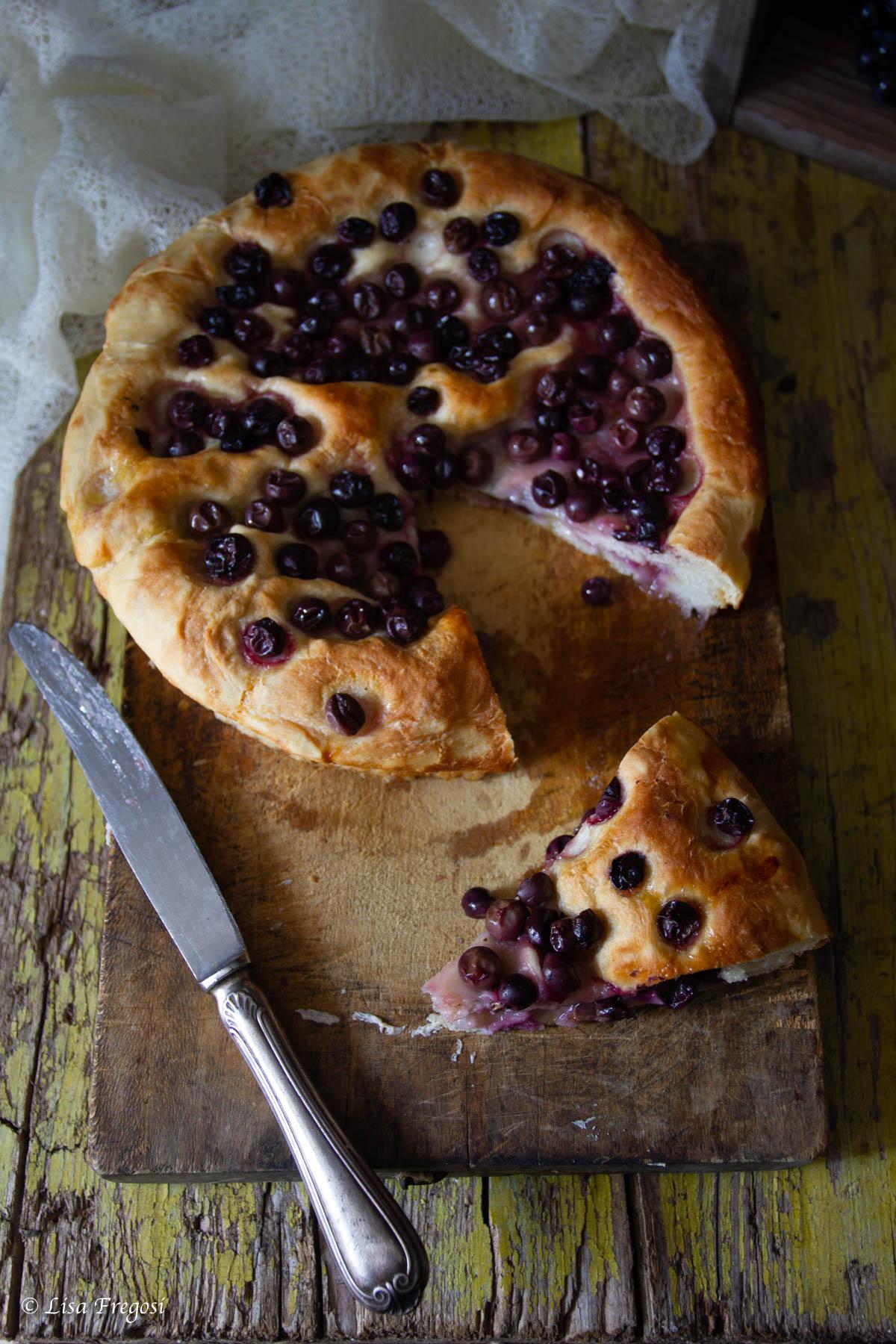 ricetta del pan con l'uva