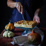 torta salata zucca al forno