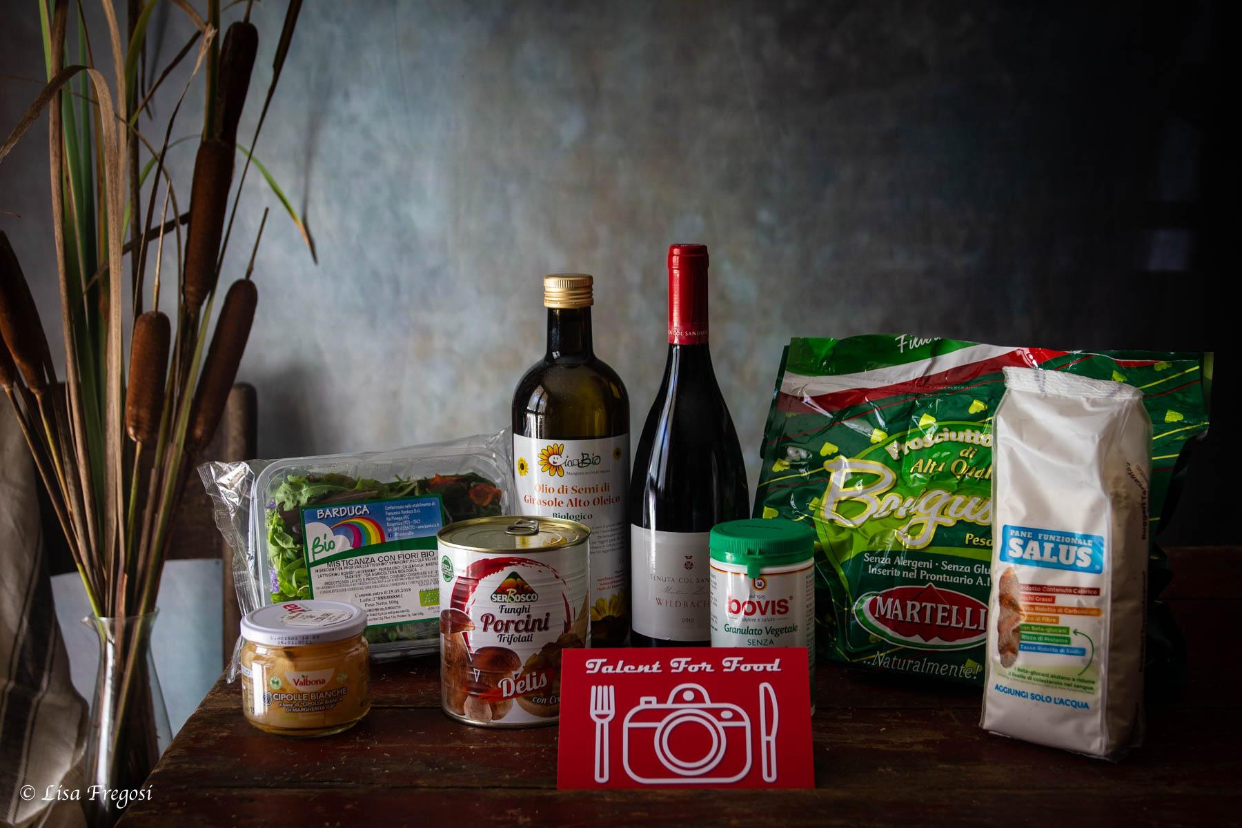 Mistery box prodotti talent for food 2018