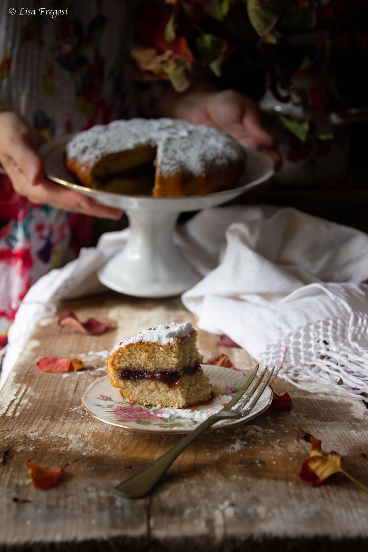 ricetta della torta versata