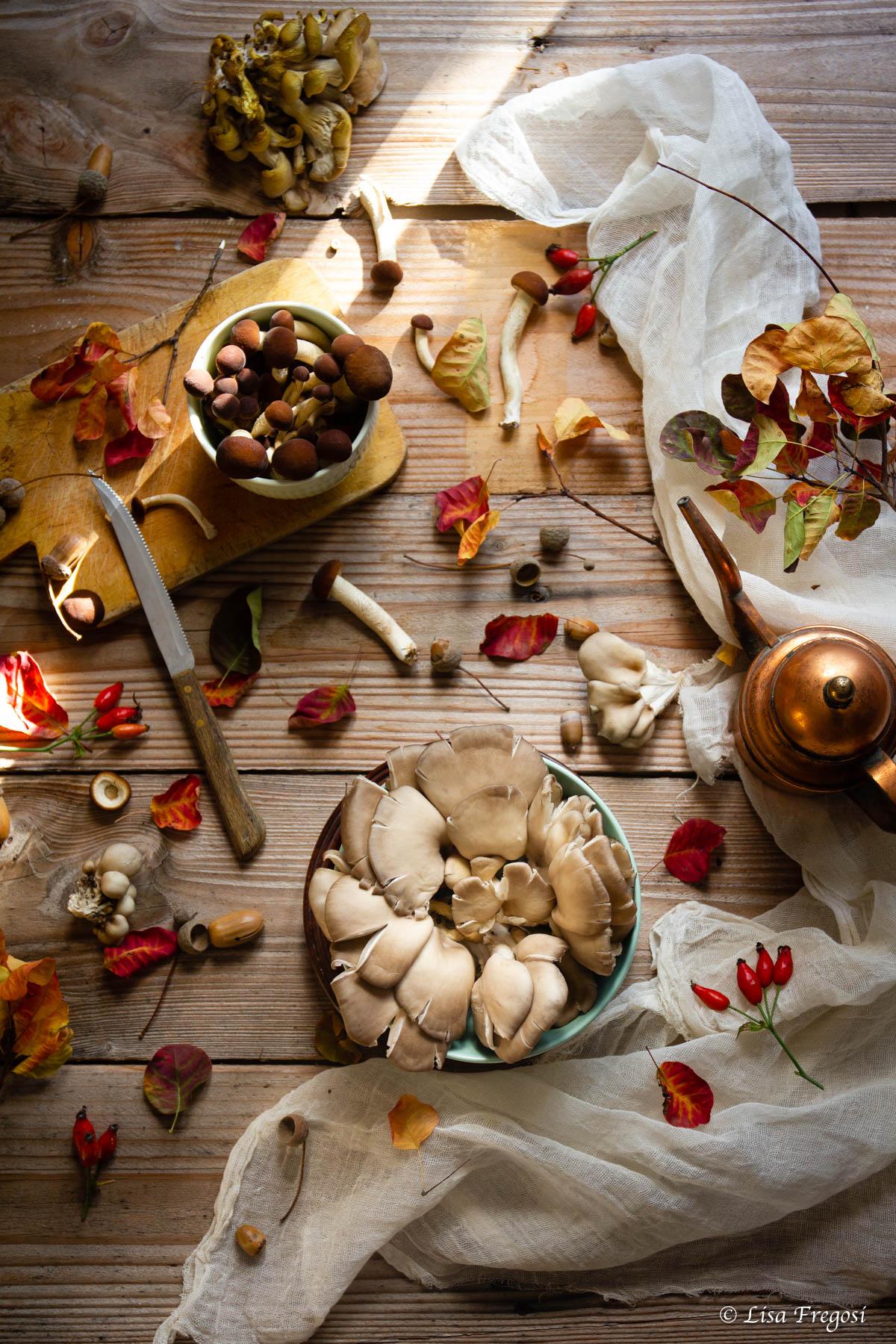 tortino salato funghi, tortino funghi e taleggio, tortino funghi veloce,