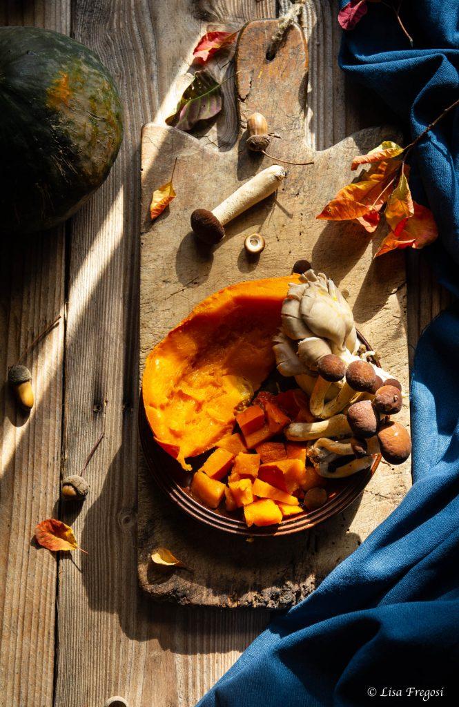 ricette con zucca e funghi