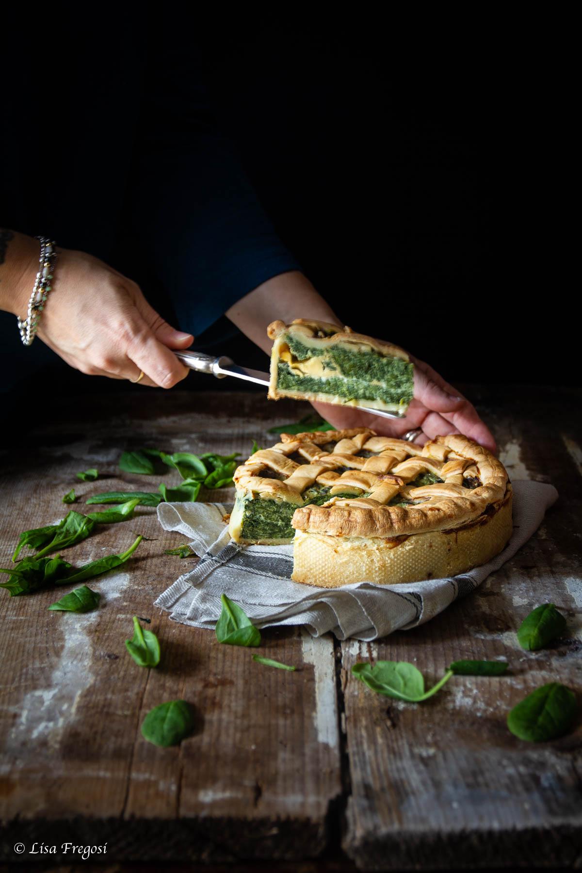 come fare la torta salata spinaci ricotta