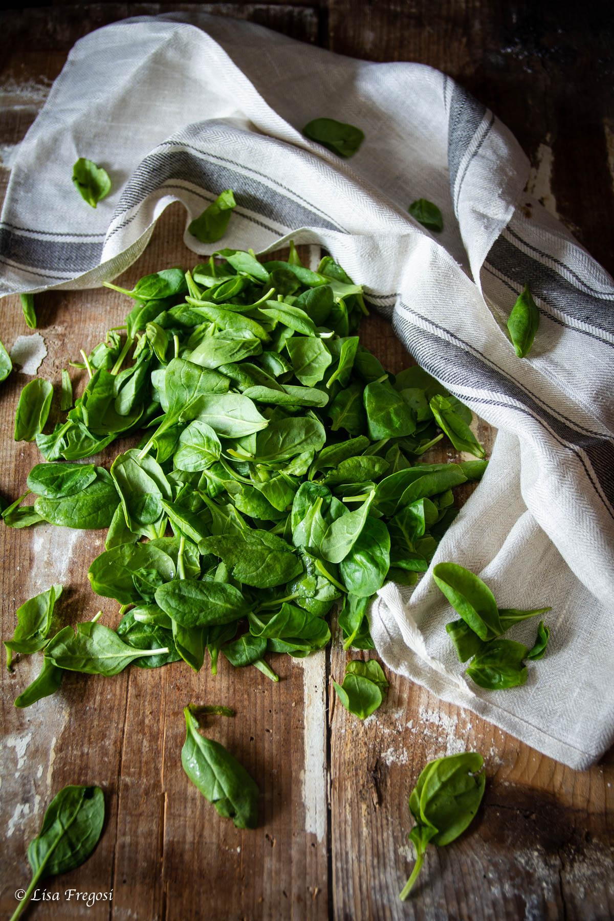 spinaci o spinacio ricette veloci
