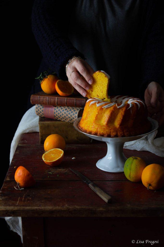 La fluffosa con arancia