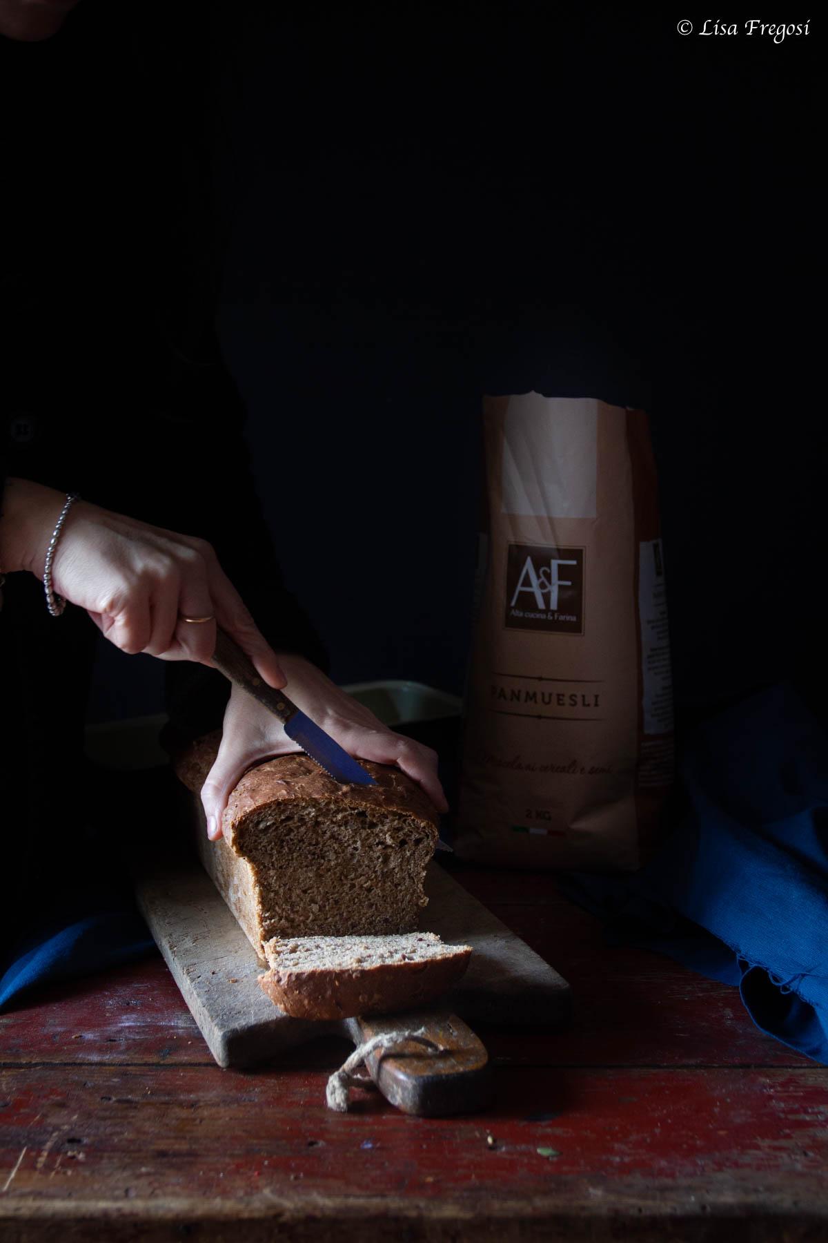 la ricetta del pan muesli
