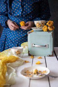 la torta mimosa con ananas e crema al mascarpone