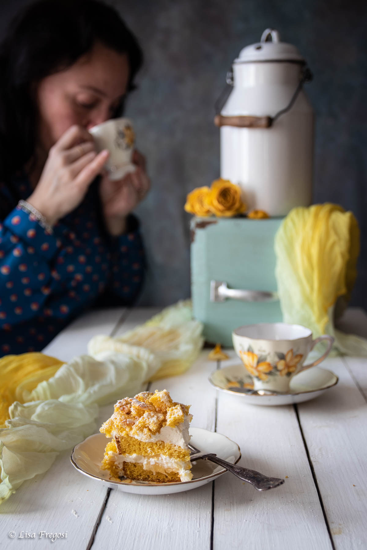 la ricetta dellla torta mimosa con ananas e crema al mascarpone
